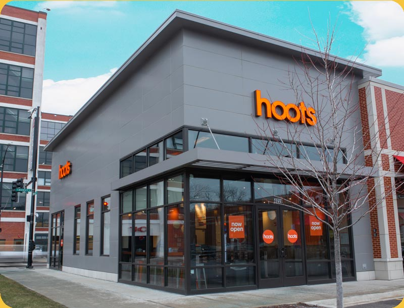 hoots wings exterior